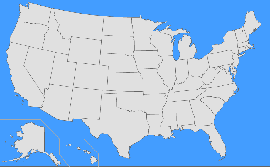 Place Us States On Map Find the US States Quiz