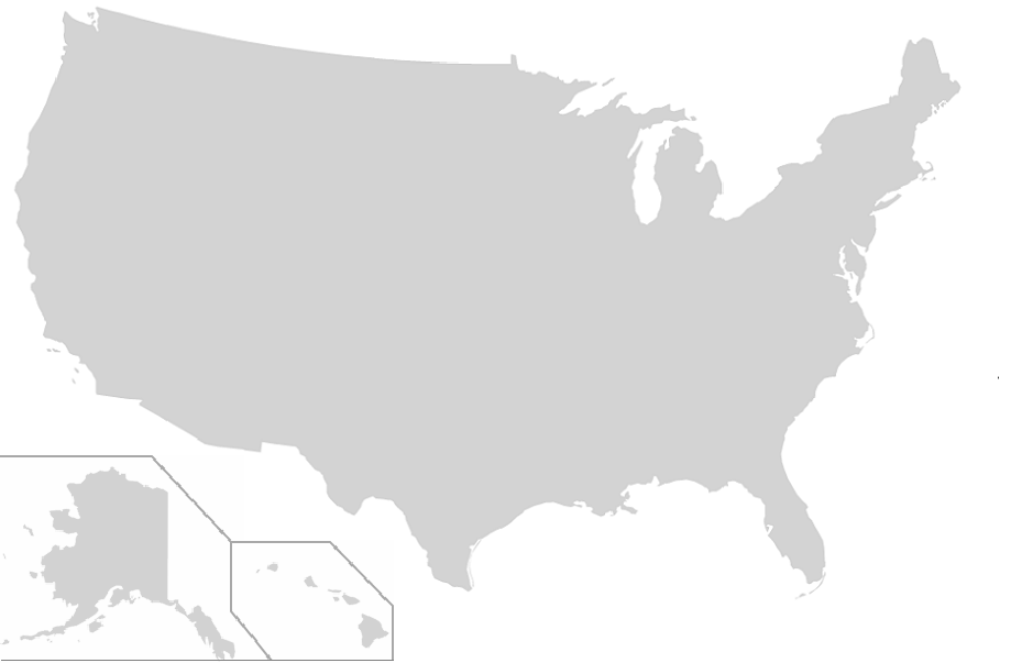 Us Map No Borders Find the US States   No Outlines Minefield Quiz