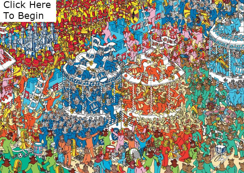 Where S Waldo Clickable Picture Quiz By Stanford0008