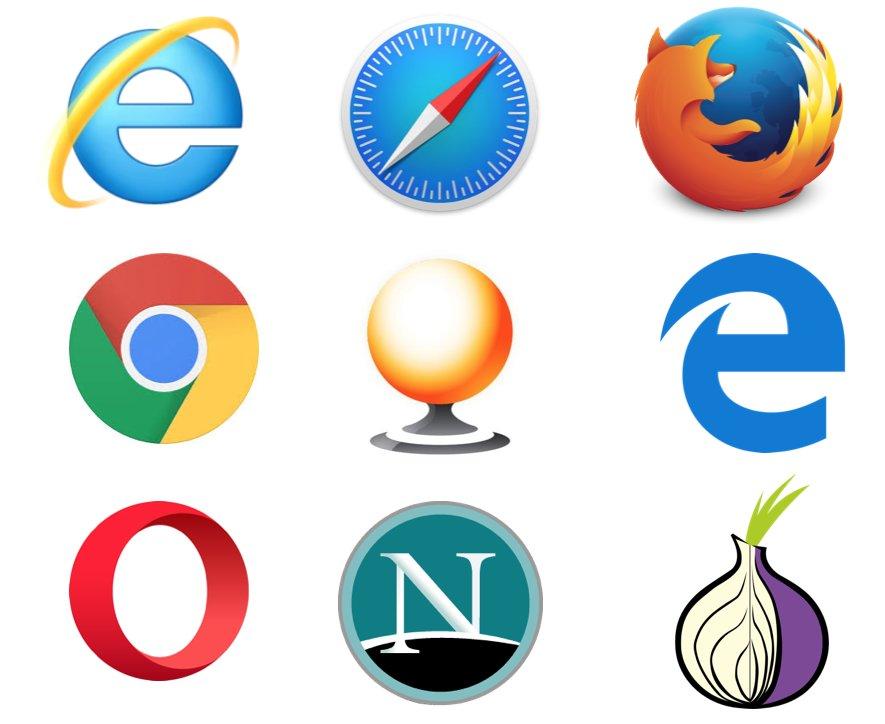 Web Browser Logo Click Quiz